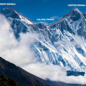 Everest Lhotse traverse