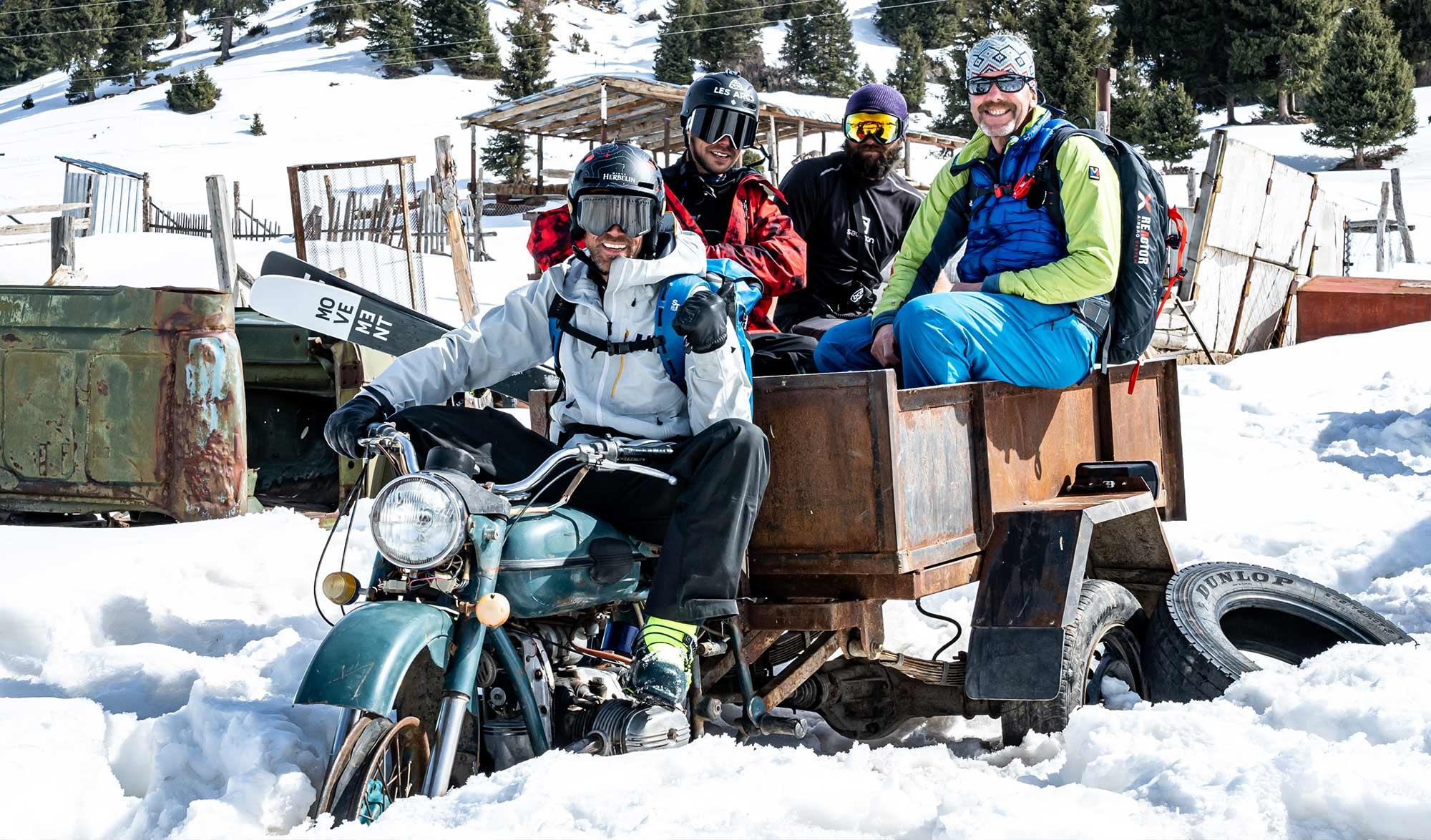 voyage ski au Kyrgistan