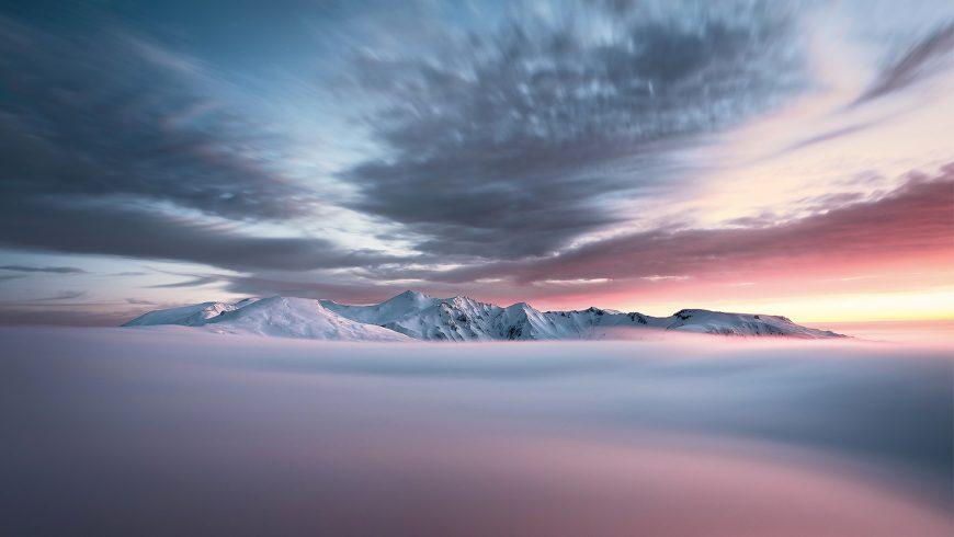 Hiver en Auvergne : Montagne aux songes