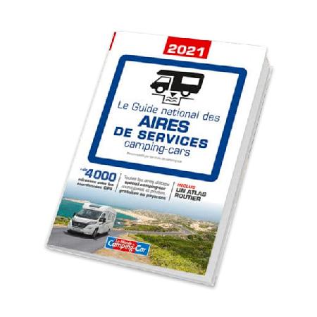 Vanlife : 4000 aires étapes réunies dans le Guide national des aires de services 2021