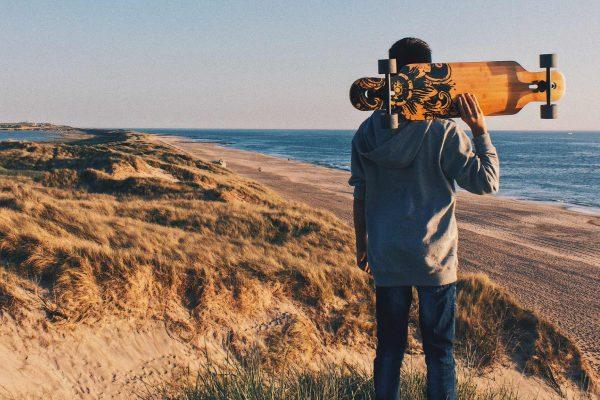 Longboard plage
