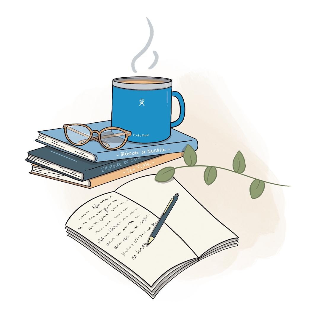 café, thé, les idées reçus
