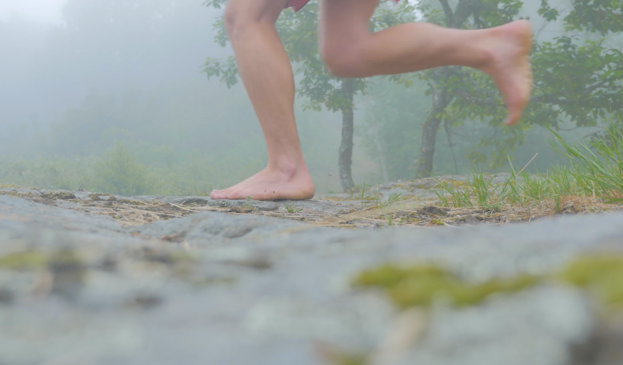 L'empreinte, 3500km pieds nus à travers l'Europe
