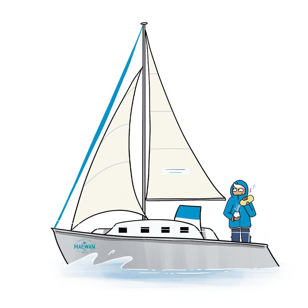 Maevan illustré par Juliette Béchu