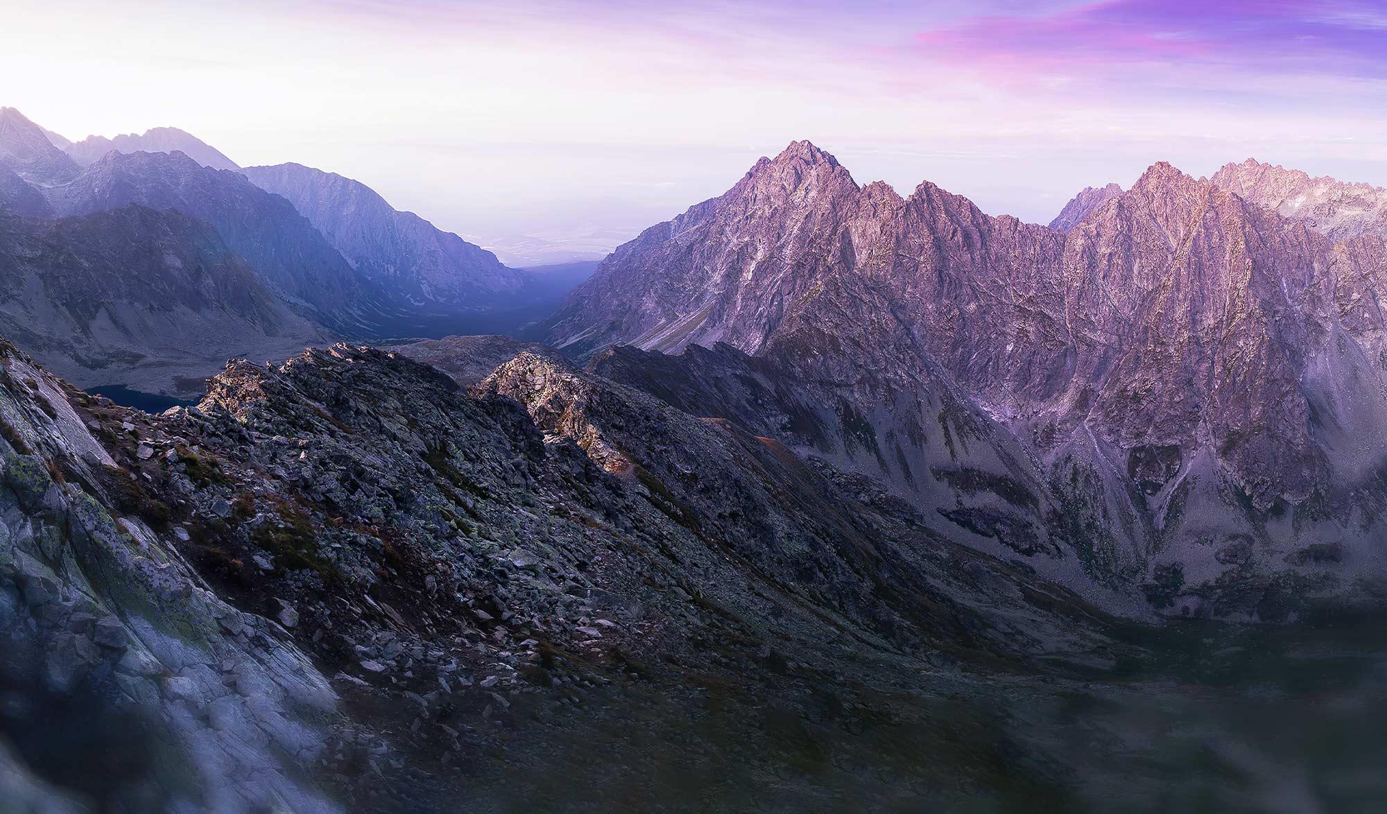 Sur les crêtes des Tatras en Pologne
