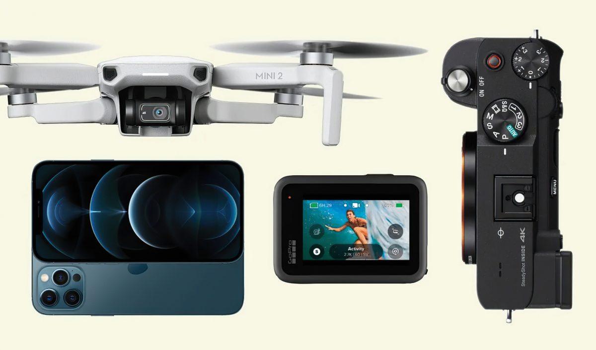 Les meilleurs drones et appareils photos pour filmer vos aventures