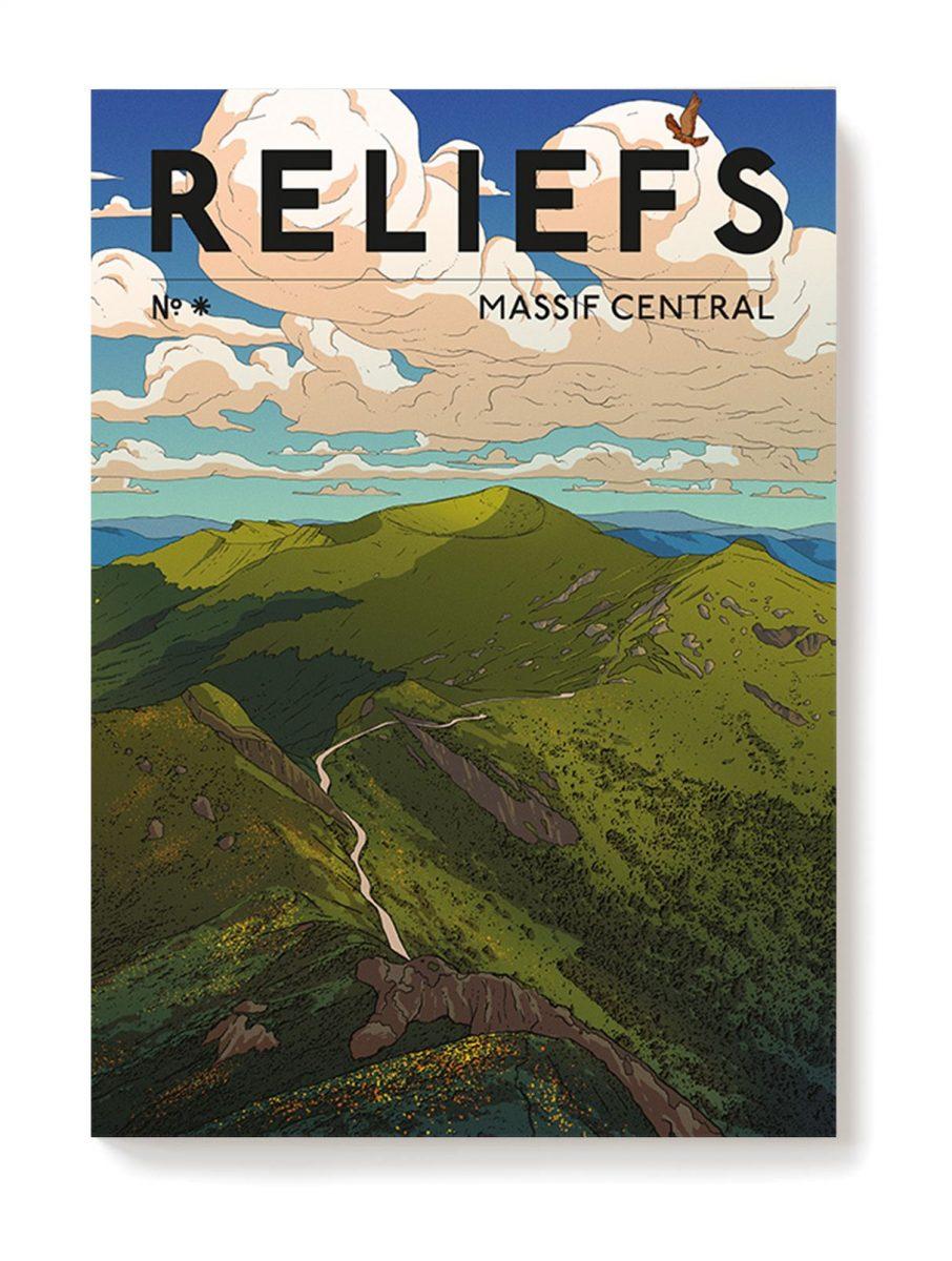 numéro spécial de Reliefs consacré au Massif central