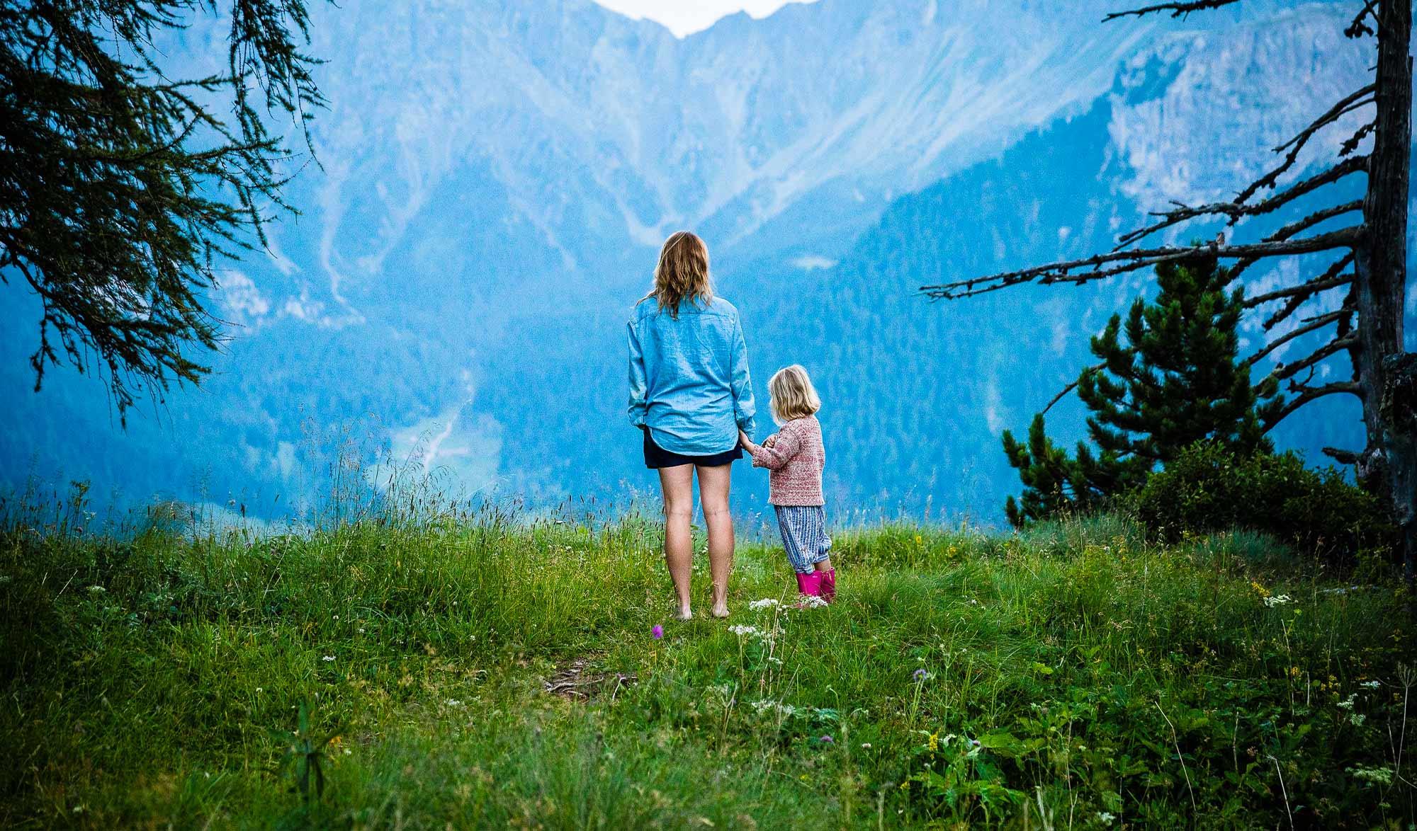 Randonnée avec enfant