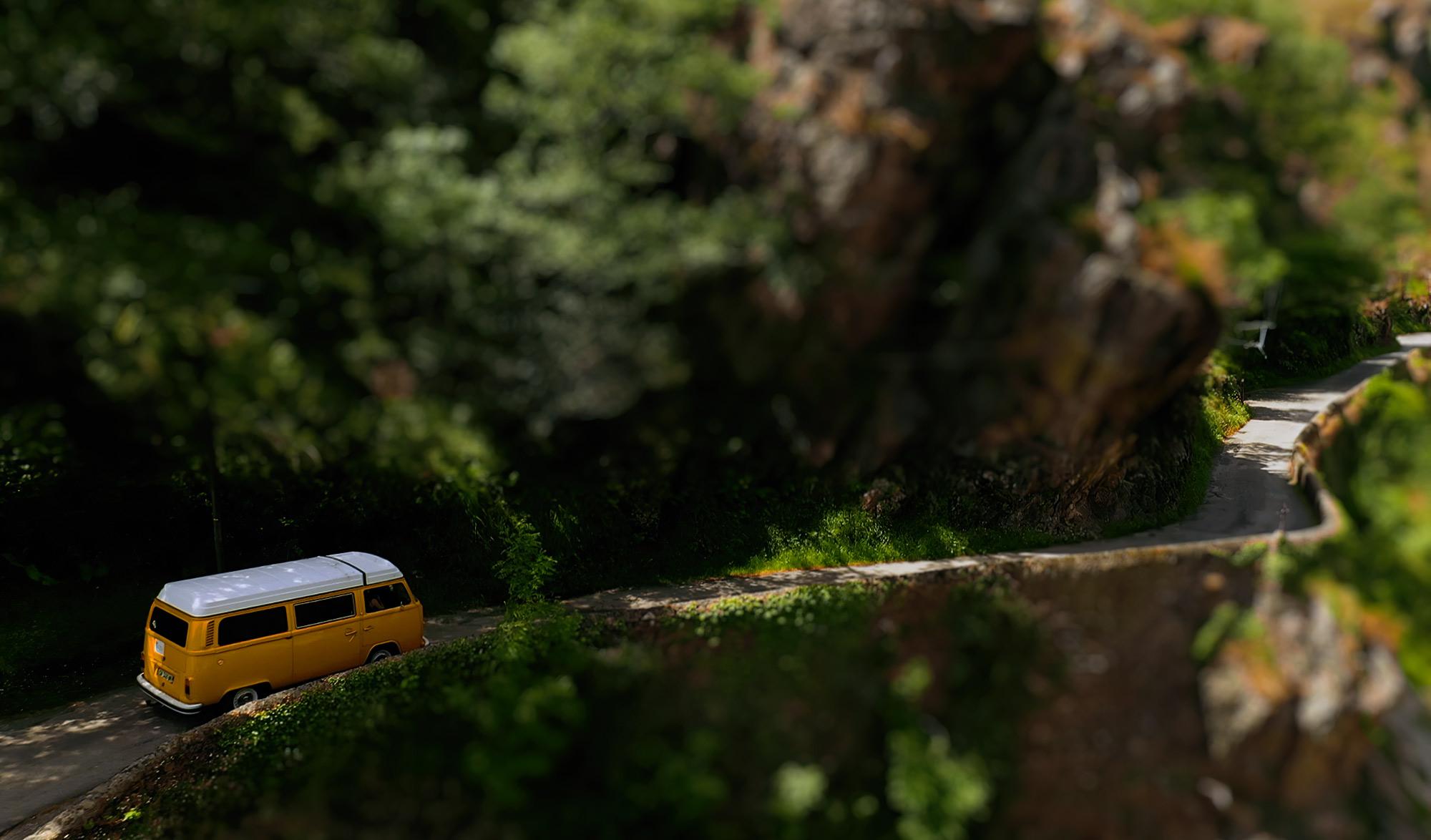 Van sur les routes de France