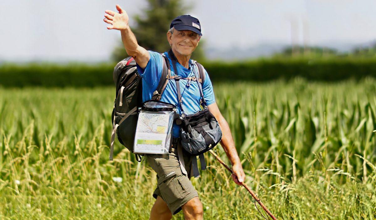 Axel Khan en randonnée