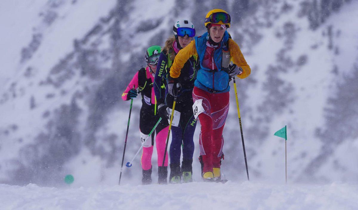 compétition de ski alpinisme