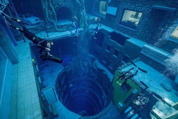 Deep Dive Dubai la piscine la plus profonde au monde