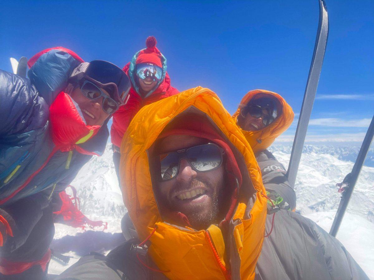 ouverture à ski au Gasherbrum II