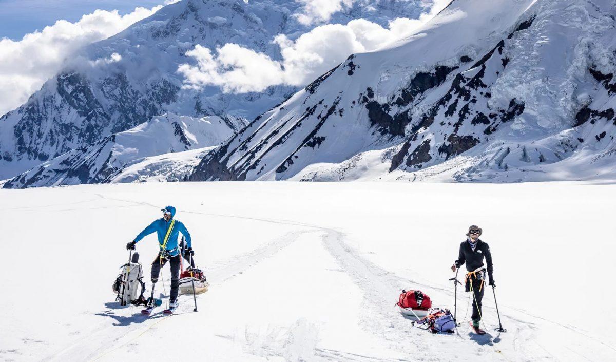 Deux skieurs amputés en expédition au Denali, Alaska