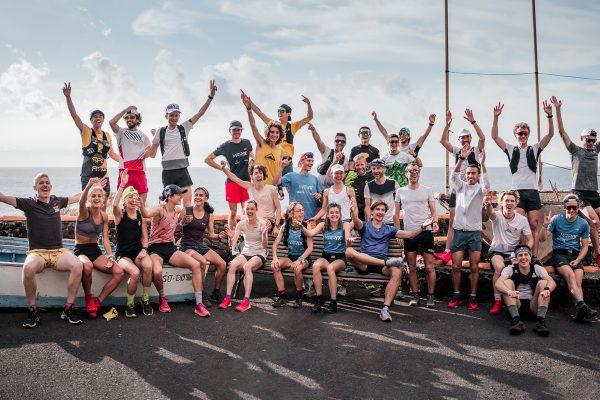 Photo de groupe Finale Golden Trail World Series à El hierro